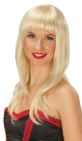 Perücke Long Cut blond
