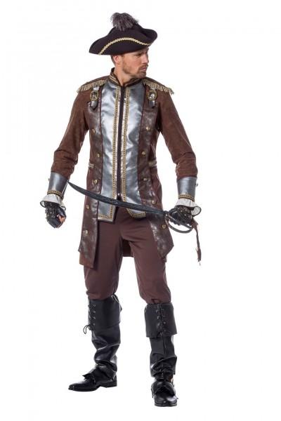 Kostüm Pirat Luxus braun