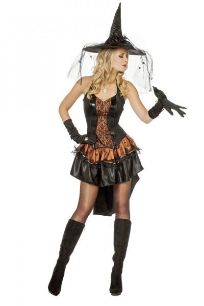 Kostüm sexy Piratin / Hexe Kupfer