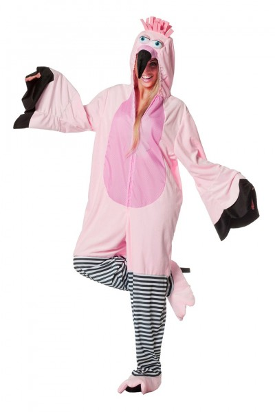 Kostüm Flamingo Overall unisex