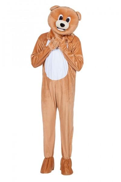 Kostüm Maskottchen Bär