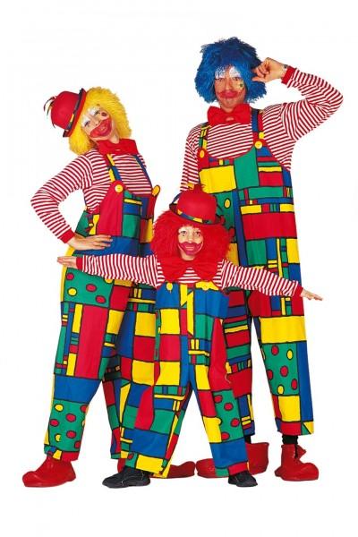 Kostüm Clown Latzhose