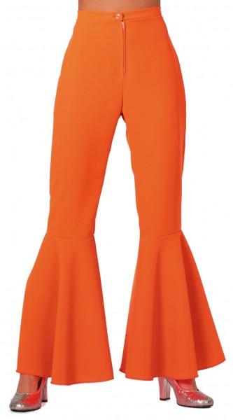 Schlaghose Damen orange