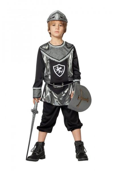Kostüm Ritter silber Kind