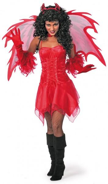 Basic Kleid rot