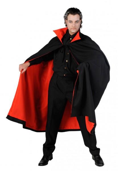 Dracula Kostüm Umhang de luxe