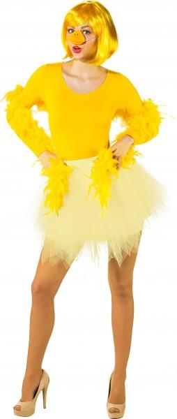 Tutu, Petticoat gelb