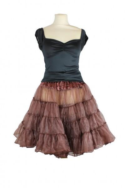 petticoat braun