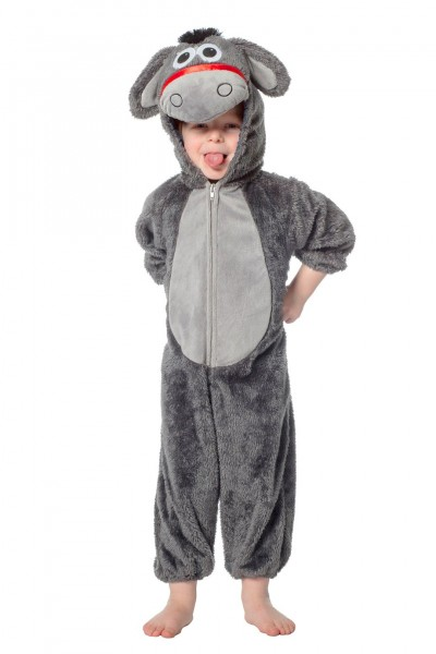 Kostüm Esel Overall Kind